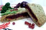 Постный пирог со свеклой и брокколи (бездрожжевой на закваске)