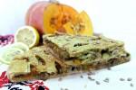 Постный пирог с тыквой и брокколи (слоёный бездрожжевой)