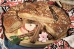 Пирог с капустой и мясом (дрожжевой)