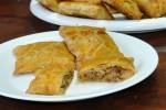Пирожок с капустой (слоёный бездрожжевой) (Заказ от 10 шт.)