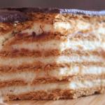 Датский сливочный пирог с какао