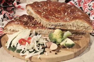 Пирог с капустой (дрожжевой)