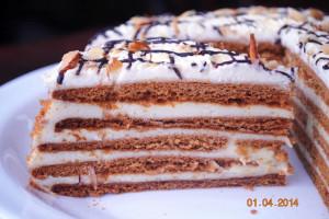 Медовик (Заказы на торты принимаются за 3 дня)