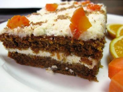 Морковно-ореховый (Заказы на торты принимаются за 3 дня)