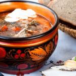 Особенности русской кулинарии