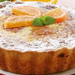 Пирог с апельсинами: сладкий бисквит с цитрусовой кислинкой