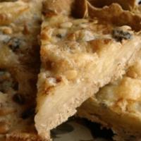 Яблочный пирог с голубым сыром